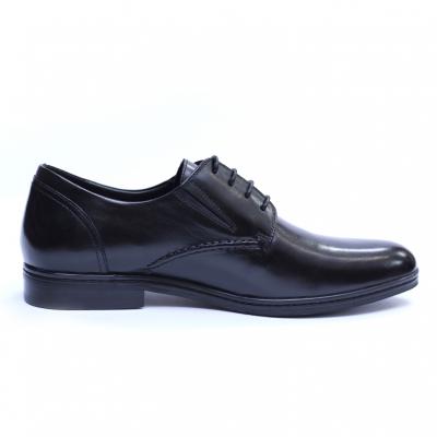 Pantofi barbati din piele naturala, Knight, SACCIO, Negru, 39 EU [3]