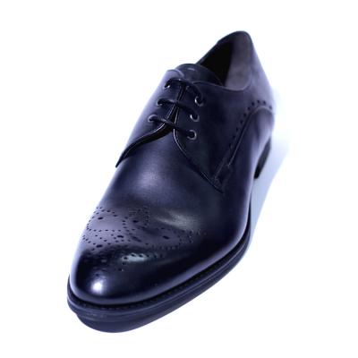 Pantofi eleganti pentru barbati din piele naturala, Soni, ANNA CORI, Negru, 39 EU1