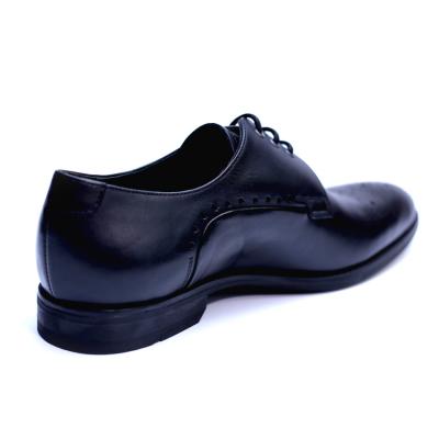 Pantofi eleganti pentru barbati din piele naturala, Soni, ANNA CORI, Negru, 39 EU2