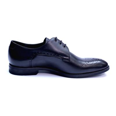 Pantofi eleganti pentru barbati din piele naturala, Soni, ANNA CORI, Negru, 39 EU3