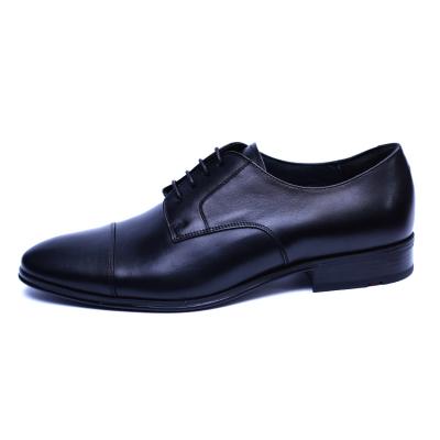 Pantofi barbati din piele naturala, Johnny, ANNA CORI, Negru, 43 EU0