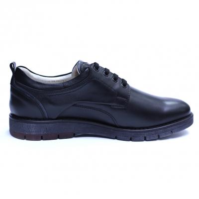Pantofi barbati din piele naturala, Sir, Gitanos, Negru, 39 EU3