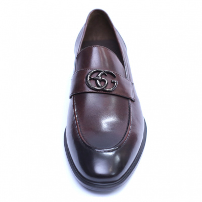 Pantofi barbati din piele naturala, Dolce vita, SACCIO, Maro, 39 EU1