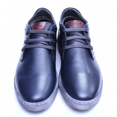 Pantofi barbati din piele naturala, Jim, Gitanos, Bleumarin, 39 EU2
