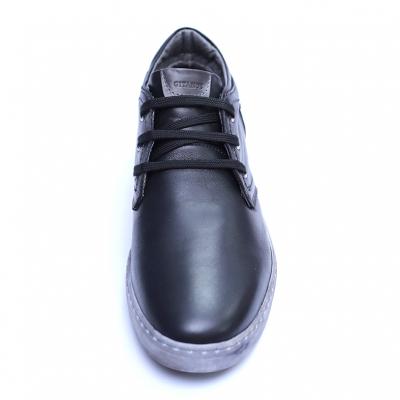 Pantofi barbati din piele naturala, Jim, Gitanos, Negru, 39 EU [1]