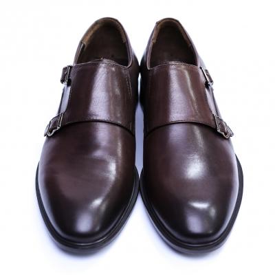 Pantofi barbati din piele naturala, Vito, SACCIO, Maro, 39 EU2