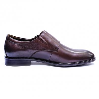 Pantofi barbati din piele naturala, Vito, SACCIO, Maro, 39 EU5