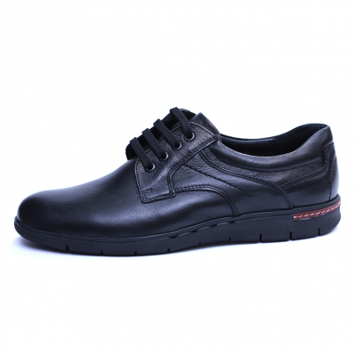 Pantofi barbati din piele naturala, Paul, Negru, 39 EU2