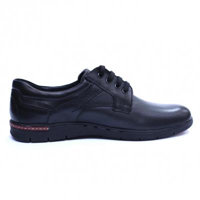 Pantofi barbati din piele naturala, Paul, Negru, 39 EU3