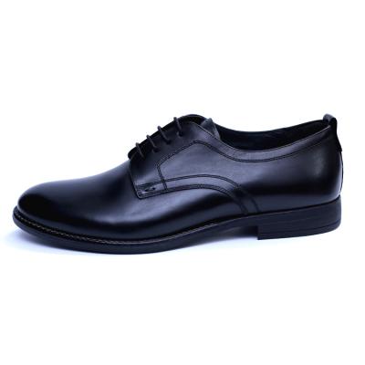 Pantofi barbati din piele naturala, Detective, RIVA MANCINA, Negru, 39 EU2