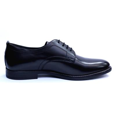 Pantofi barbati din piele naturala, Detective, RIVA MANCINA, Negru, 39 EU4