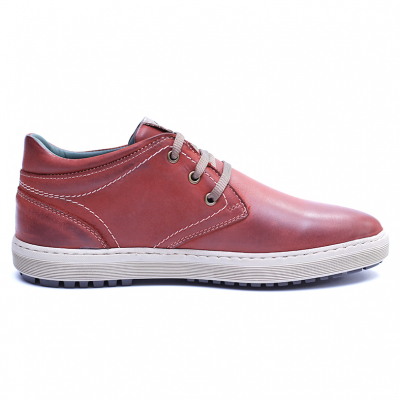 Pantofi barbati din piele naturala, Jim, Gitanos, Visiniu, 39 EU4