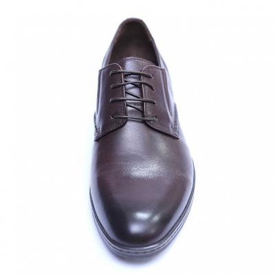 Pantofi barbati din piele naturala, Knight, SACCIO, Maro, 39 EU1