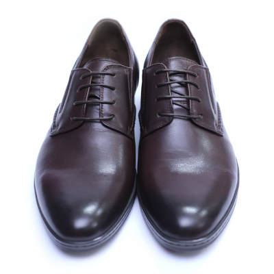 Pantofi barbati din piele naturala, Knight, SACCIO, Maro, 39 EU2