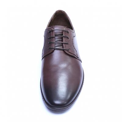Pantofi barbati din piele naturala, Tom, SACCIO, Maro, 39 EU1