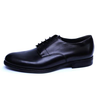 Pantofi barbati din piele naturala, Nico, RIVA MANCINA, Negru, 45 EU2