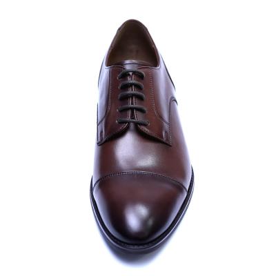 Pantofi barbati din piele naturala, Marlon, ANNA CORI, Maro inchis, 39 EU [1]