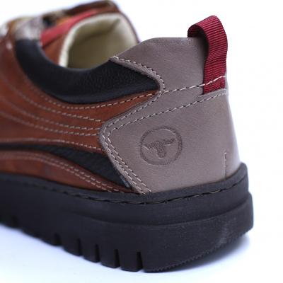 Pantofi barbati din piele naturala, JK, Gitanos, Maro, 39 EU2