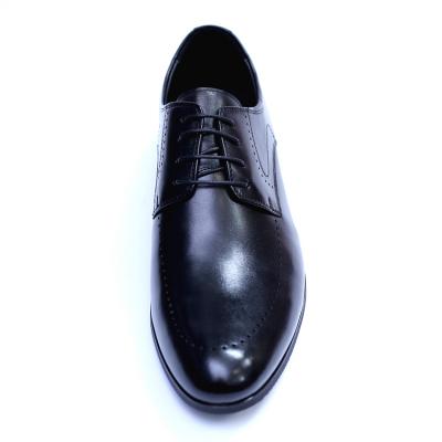 Pantofi barbati din piele naturala, Lee, SACCIO, Negru, 39 EU [1]