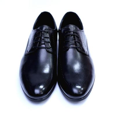 Pantofi barbati din piele naturala, Lee, SACCIO, Negru, 39 EU [2]