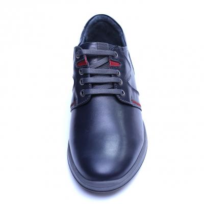 Pantofi barbati din piele naturala, Martin, Gitanos, Bleumarin, 39 EU1