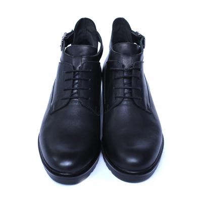 Pantofi dama din piele naturala, AML, Negru, 36 EU0