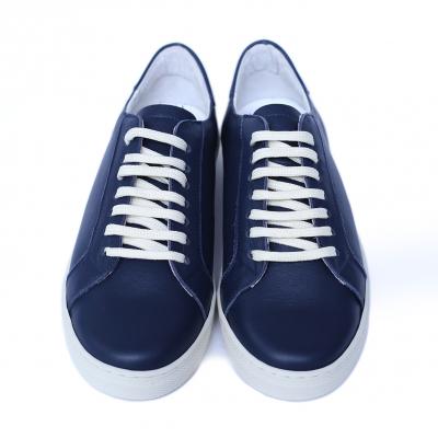 Pantofi dama din piele naturala, Verona, Peter, Albastru, 41 EU2