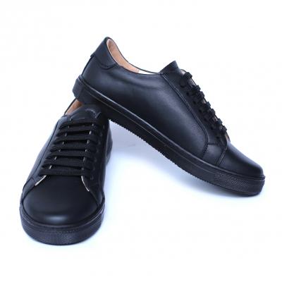 Pantofi dama din piele naturala, Verona, Peter, Negru, 35 EU1