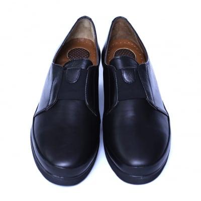 Pantofi dama din piele naturala, Sina, Anna Viotti, Negru, 41 EU1