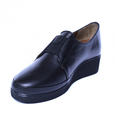 Pantofi dama din piele naturala, Sina, Anna Viotti, Negru, 41 EU [0]