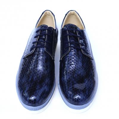 Pantofi dama din piele naturala, Cameleon, Alexin, Albastru, 40 EU [1]