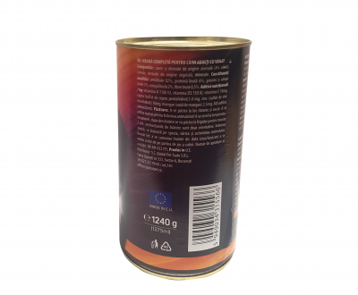 Conserva cu hrana umeda pentru caini cu vanat, Lolo, 1240 g, set de 6 bucati [2]