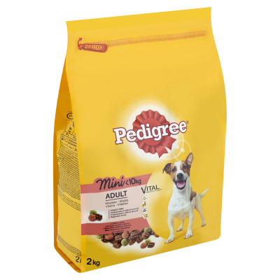 Hrana uscata pentru caini Pedigree Adult talie mica, Vita & Legume, 2Kg [1]