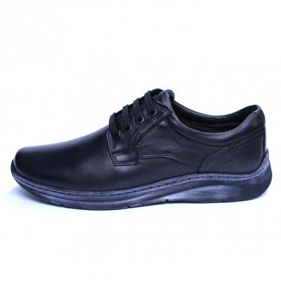 Pantofi barbati din piele naturala, Demy, Gitanos, Negru, 39 EU [2]