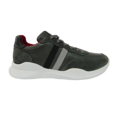 Pantofi sport pentru barbati din piele naturala, Rafael, Gitanos, Gri, 40 EU0