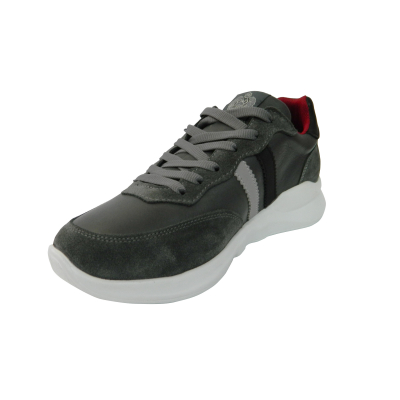 Pantofi sport pentru barbati din piele naturala, Rafael, Gitanos, Gri, 40 EU2