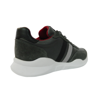 Pantofi sport pentru barbati din piele naturala, Rafael, Gitanos, Gri, 40 EU1