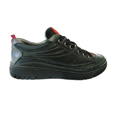 Pantofi sport pentru barbati din piele naturala, Air, Gitanos, Negru, 39 EU0