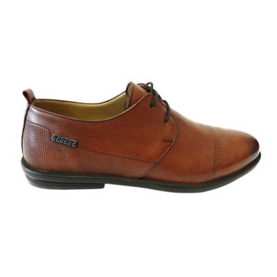 Pantofi pentru barbati din piele naturala, Neil, Gitanos, Maro, 40 EU [0]