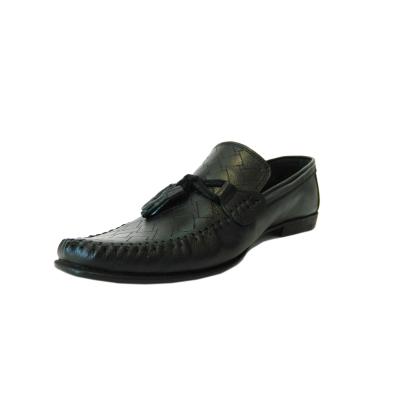 Pantofi pentru barbati din piele naturala, 70s, Goretti, Negru, 40 EU2