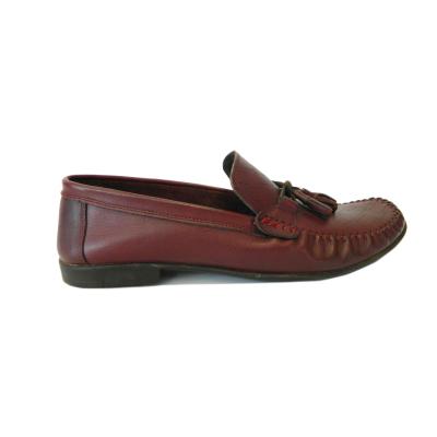 Pantofi pentru barbati din piele naturala, 70s, Goretti, Bordeaux, 40 EU [0]