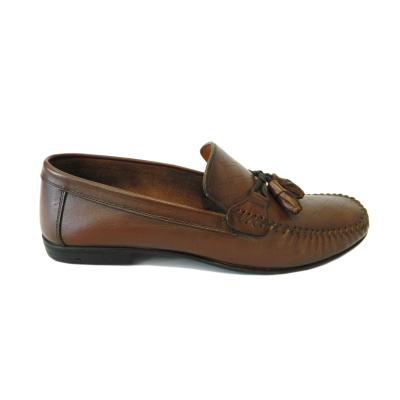 Pantofi pentru barbati din piele naturala, 70s, Goretti, Maro, 40 EU [0]