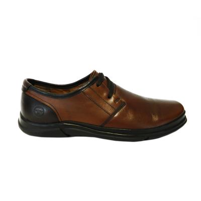 Pantofi pentru barbati din piele naturala, Pablo, Gitanos, Maro, 39 EU0