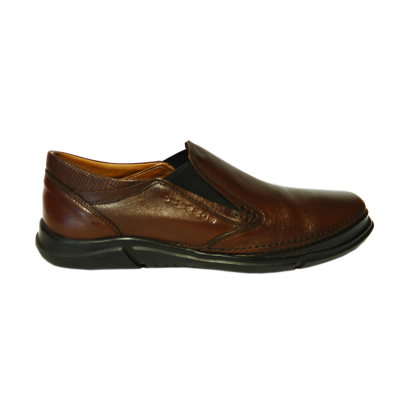 Pantofi pentru barbati din piele naturala, Robin, Gitanos, Maro, 39 EU [0]