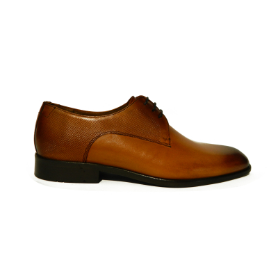 Pantofi eleganti pentru barbati din piele naturala, Bojan, Goretti, Maro, 40 EU [0]