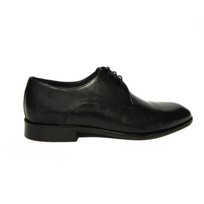 Pantofi eleganti pentru barbati din piele naturala, Bojan, Goretti, Negru, 40 EU0