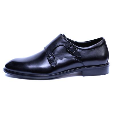 Pantofi barbati din piele naturala, Vito, SACCIO, Negru, 41 EU3