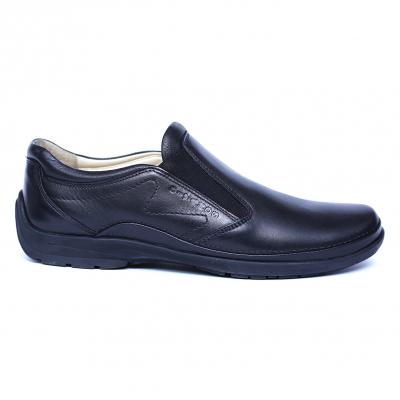 Pantofi barbati din piele naturala, Relax, Gitanos, Negru, 39 EU3
