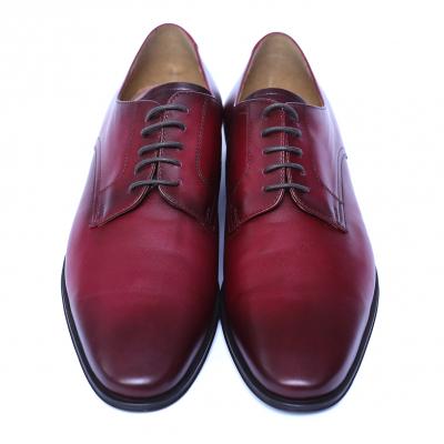 Pantofi eleganti barbati din piele naturala, Solari, DENIS, Bordeaux, 39 EU1
