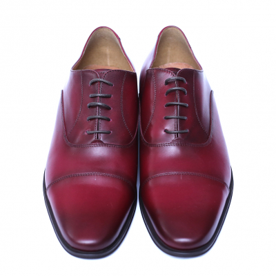Pantofi barbati din piele naturala, Solari 2, DENIS, Bordeaux, 39 EU1